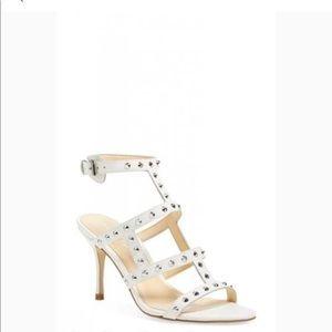 """Ivanka Trump leather studded 4"""" heels"""